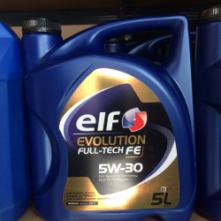Motorolie Elf EVOLUTION FULL-TECH FE 5W30 5L.