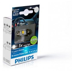 PHILIPS X-treme Vision LED C5W 4000K