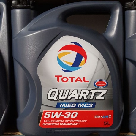 Motorolie TOTAL QUARTZ INEO MC3 5W30 5L.