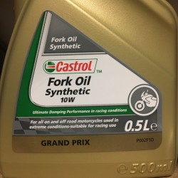 Castrol Synthetic Fork Oil 10W 500ml