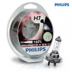 PHILIPS +60% Vision Plus H7