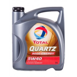 Motorolie Total QUARTZ ENERGY 9000 5W40 5L.