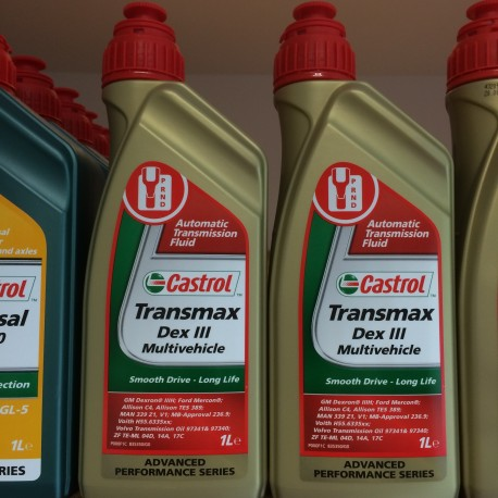 Castrol Transmax Dex III Multivehicle 1L.
