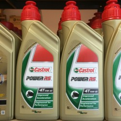 Motorolie Castrol POWER RS 4T 10W40 1L.