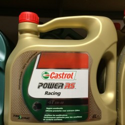 Motorolie Castrol POWER RS Racing 4T 5W40 4L.