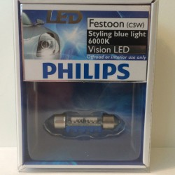 PHILIPS Vision LED C5W 6000K
